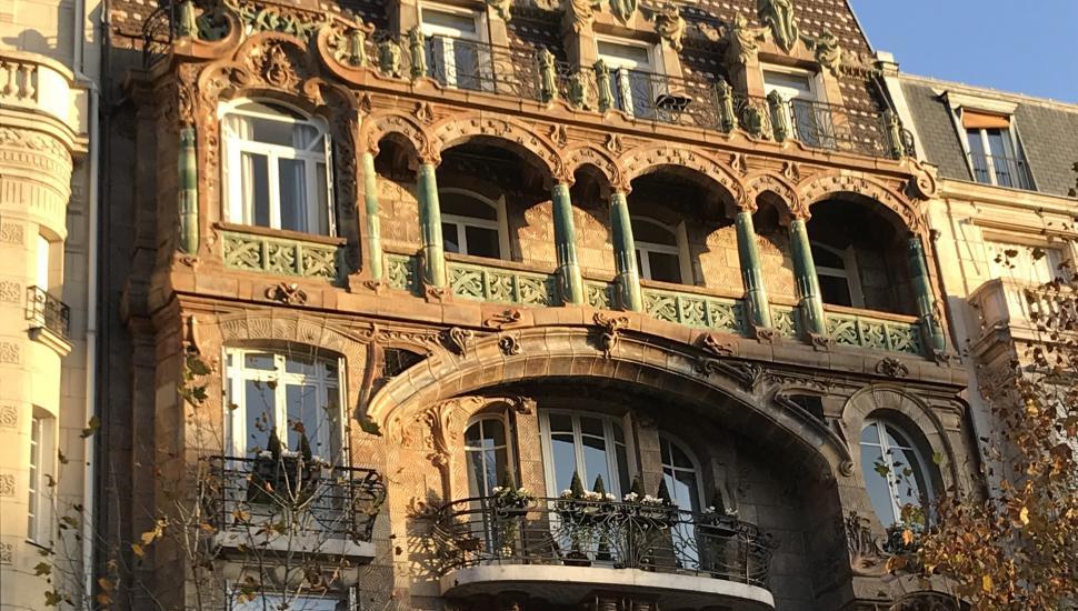 Victoria Palace Hotel Paris Building