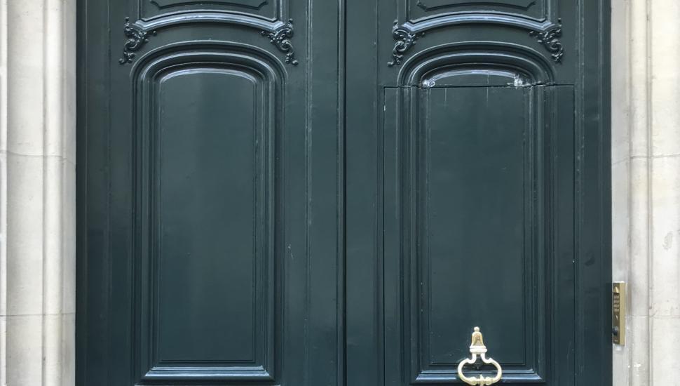 Victoria Palace Hotel Paris Building Door