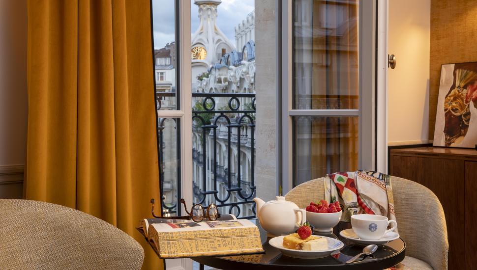 Victoria Palace Hotel Paris chambre deluxe