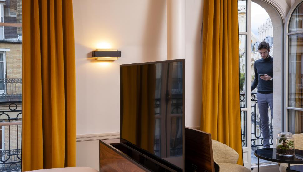 Victoria Palace Hotel Paris Deluxe Room
