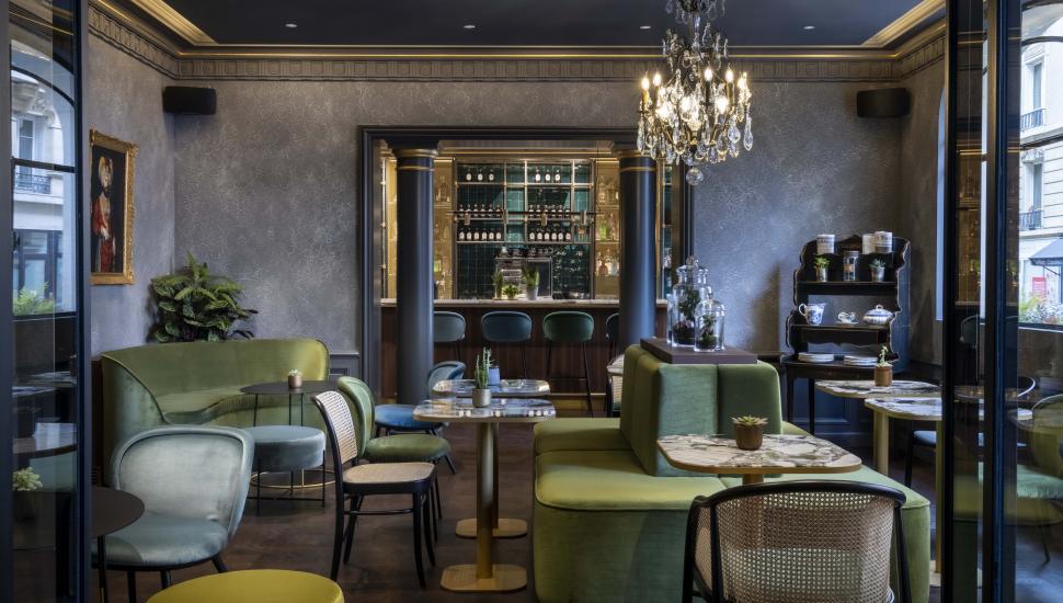 Victoria Palace Hotel Paris james bar lounge