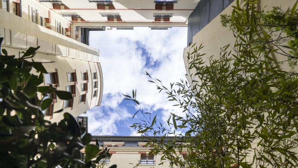 Victoria Palace Hôtel Paris la terrasse