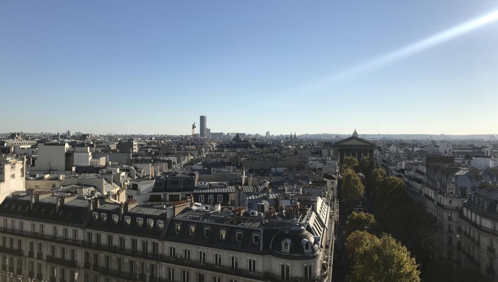 Victoria Palace Hotel Paris vue