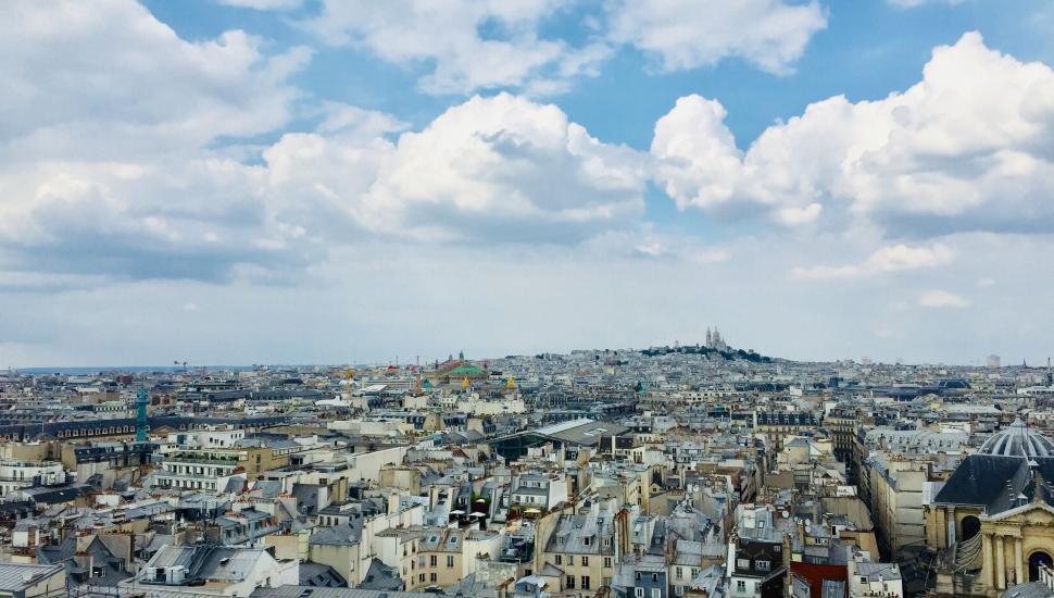 Victoria Palace Hotel Paris vue montmartre
